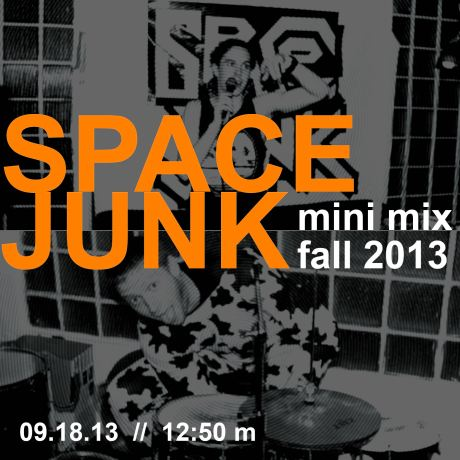 COVER space junk mini mix fall 2013-01